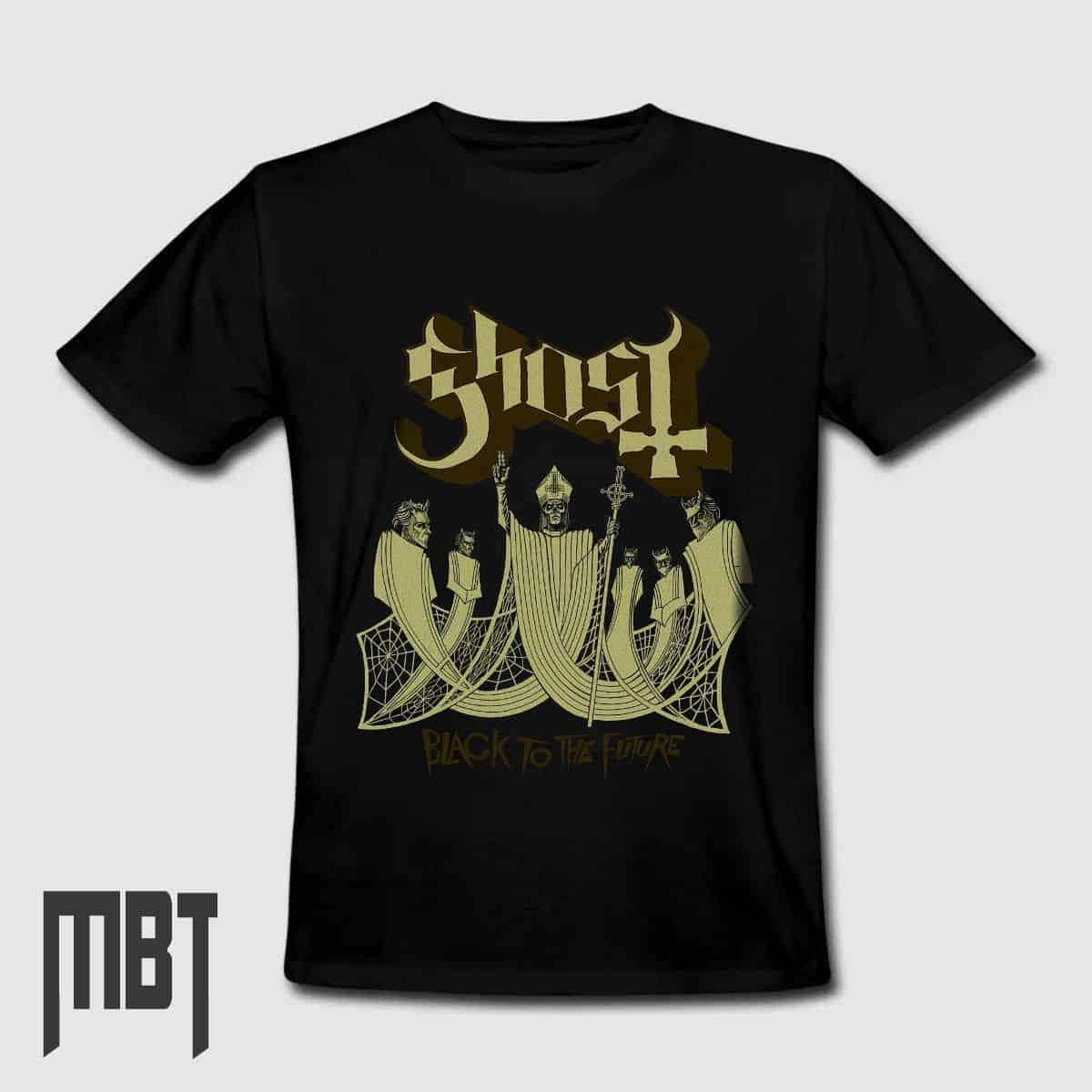 grunge punk metal Ghost Band T SHIRT S-XXL TShirt Logo T-Shirt Classic Rock NEW