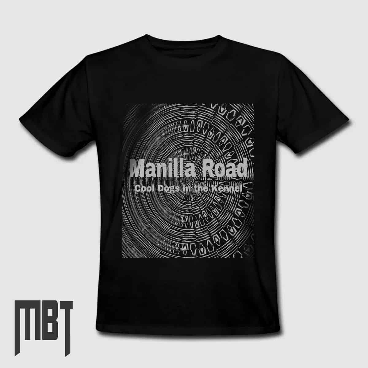 58029eb17064 Manilla Road T-Shirt, Manilla Road Cool Dogs In The Kennel Tee-Shirt ...