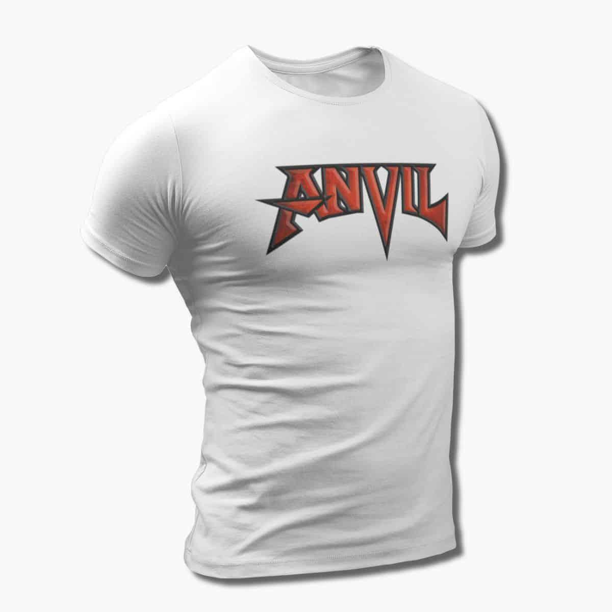 Anvil Band T Shirt Anvil Logo Tee Heavy Metal Merch Metal Band T Shirt Metal Band Tee Shirts