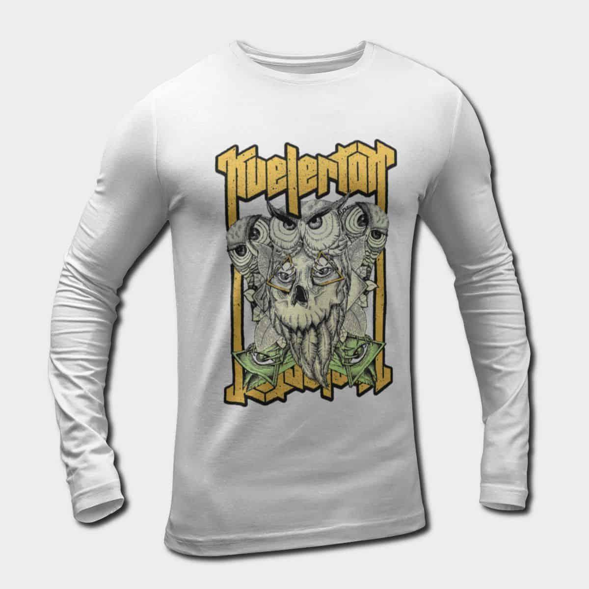 Longsleeve Long Sleeve T Kvelertak Artwork ShirtOwl Band QCsdthr