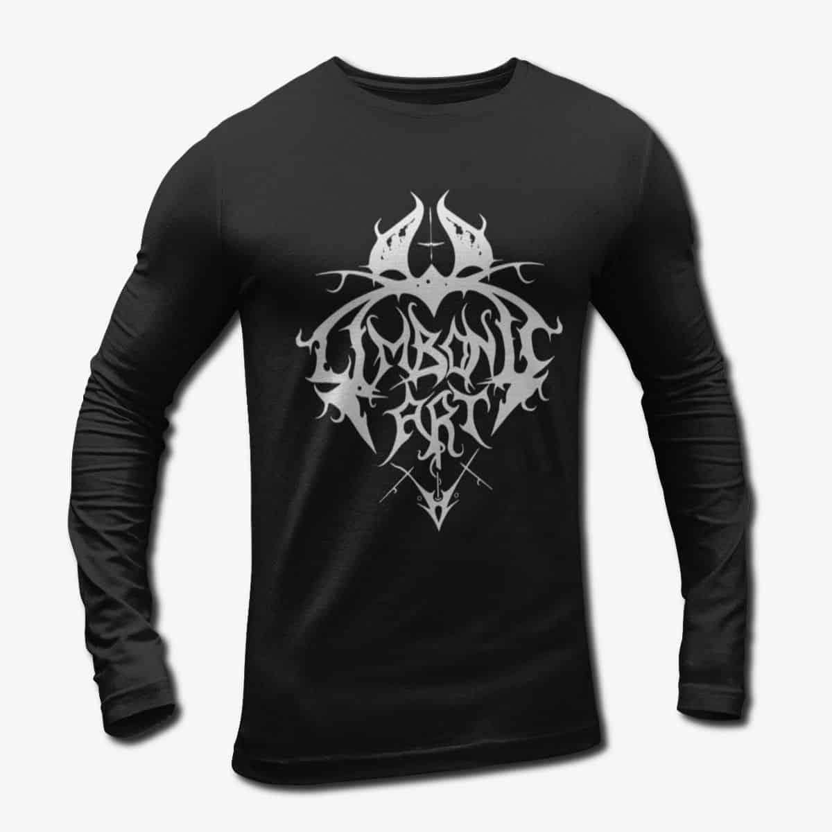 420e130bc696 Limbonic Art Band Long Sleeve T-Shirt, Limbonic Art Logo Longsleeve ...