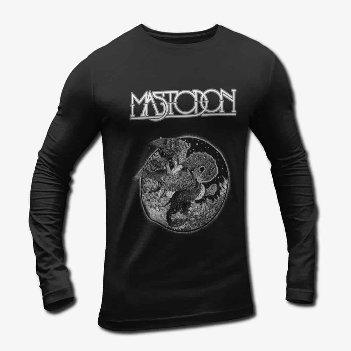 05a71e901 Mastodon Band Long Sleeve T-Shirt, Mastodon Artwork Longsleeve Tee ...