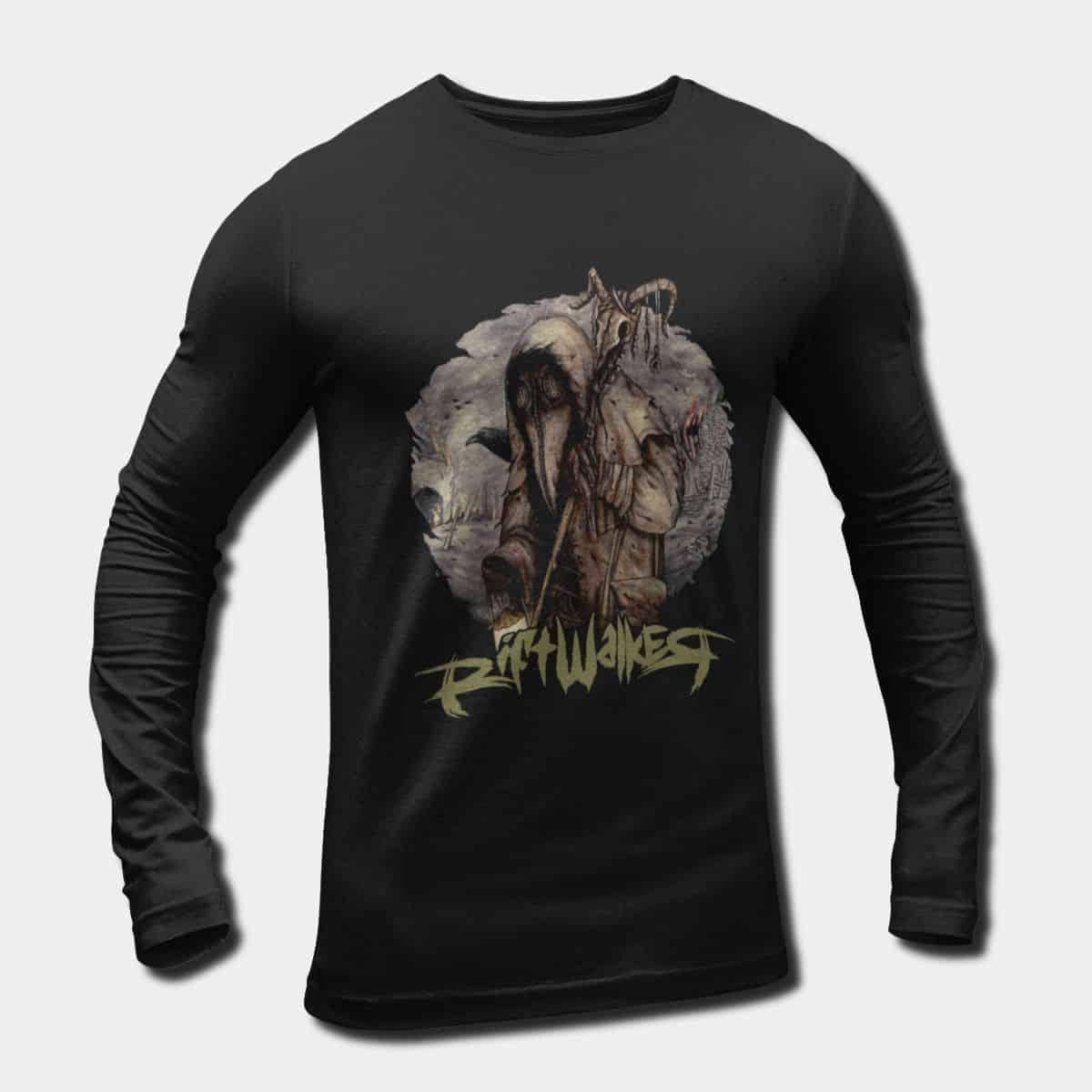 2e6605151 Rift Walker Long Sleeve T-Shirt, Imagine Music Aeterna Rift Walker Artwork  Longsleeve Tee Merch
