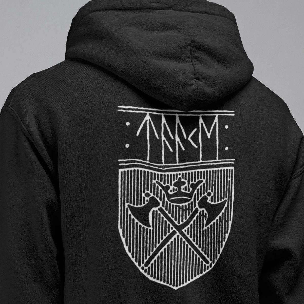 567c7307 Taake Band Hoodie, Taake Logo Hooded Sweatshirt, Black Metal Merch ...
