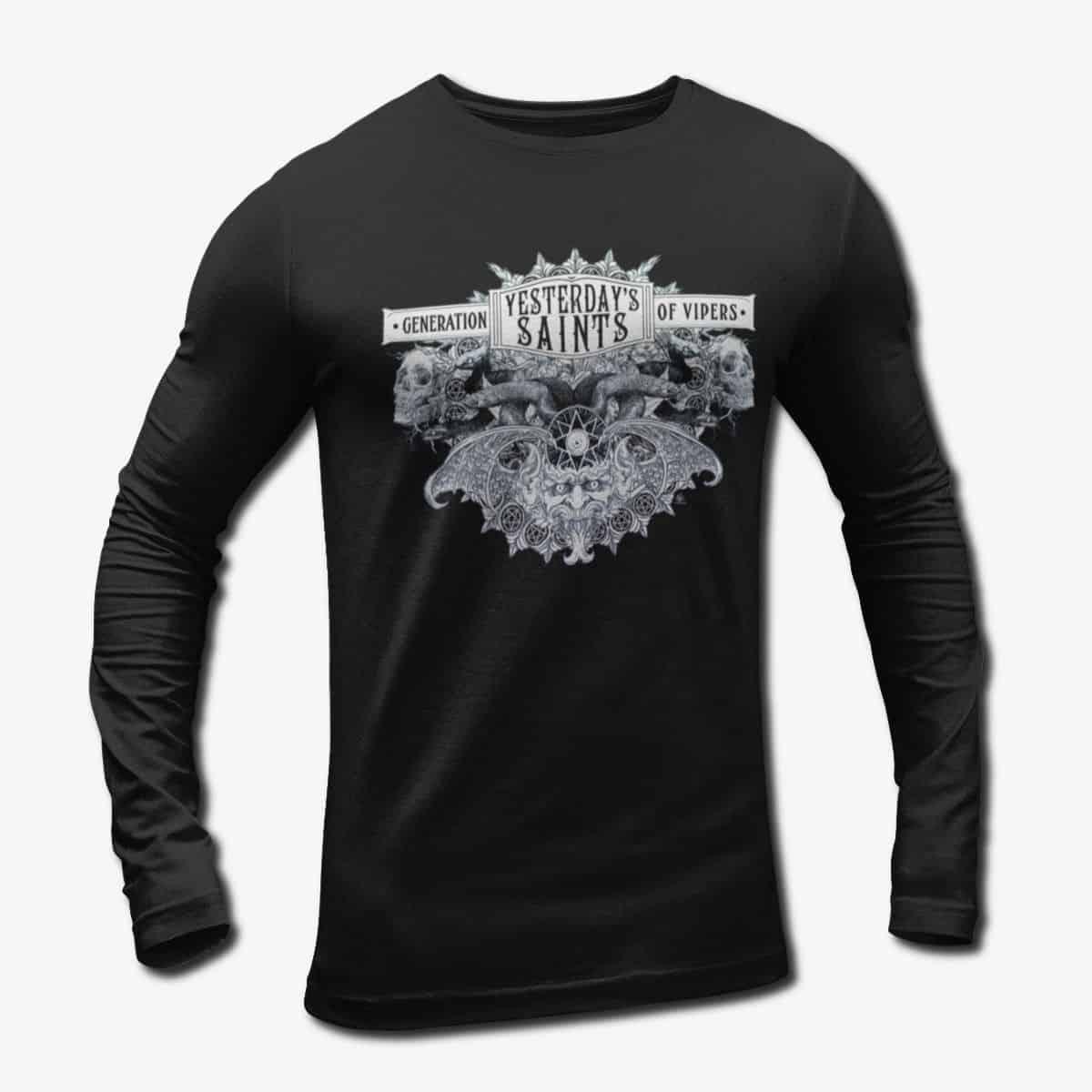 bb6fc59a1 Yesterday's Saints Long Sleeve T-Shirt, Yesterdays Saints Generation ...