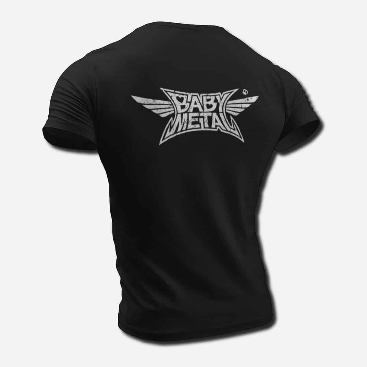 Babymetal Band T Shirt Baby Metal Band Logo Tee Shirt Heavy Metal Power Metal Merch Metal Band T Shirt Metal Band Tee Shirts