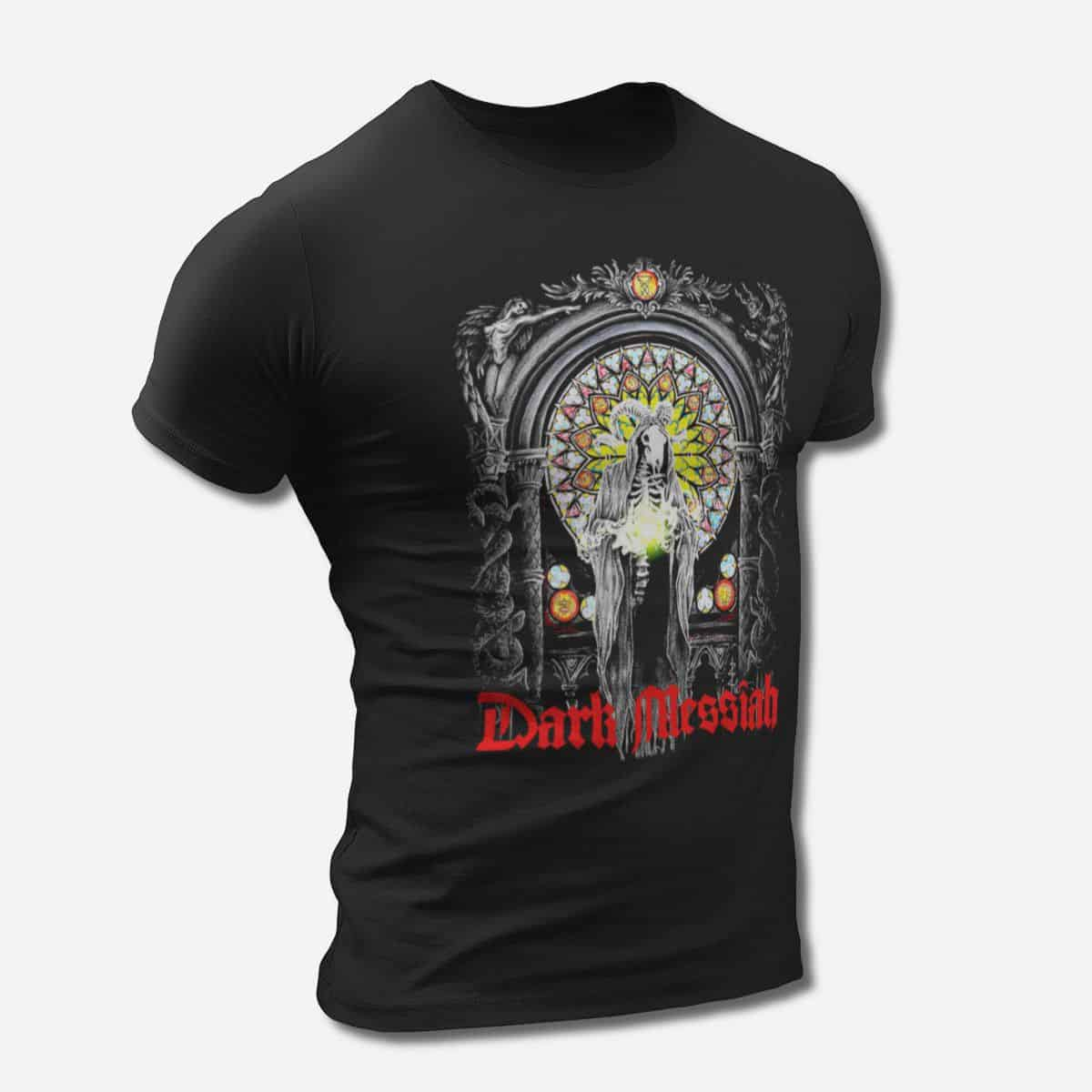 c8405da7a6474 Dark Messiah Band T-Shirt, Dark Messiah Artwork Tee Shirt, Thrash Metal,  Groove Metal Merch