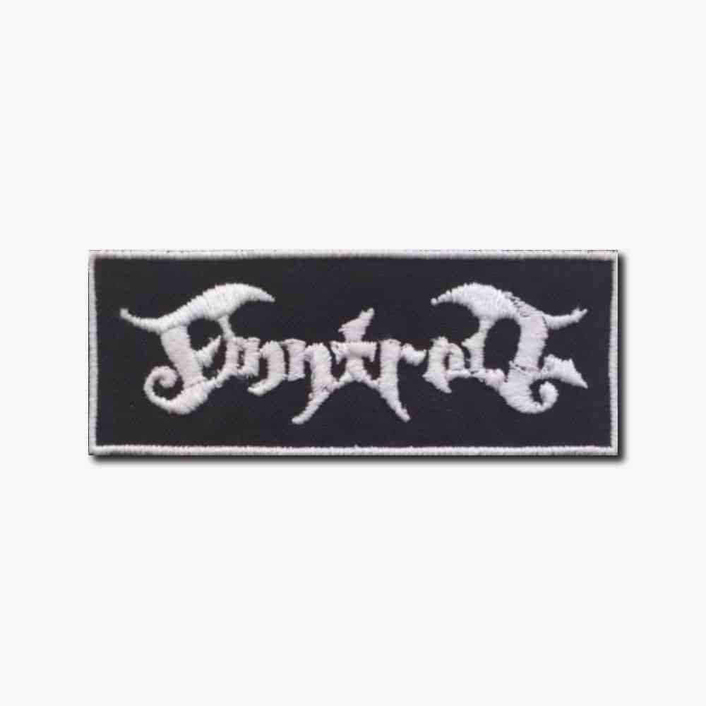 Sew On patch. Ajattara band patch