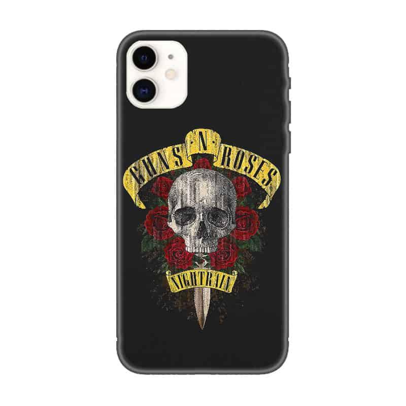 Guns n Roses iPhone Case, Guns n Roses Nightrain iPhone 11 Phone Case